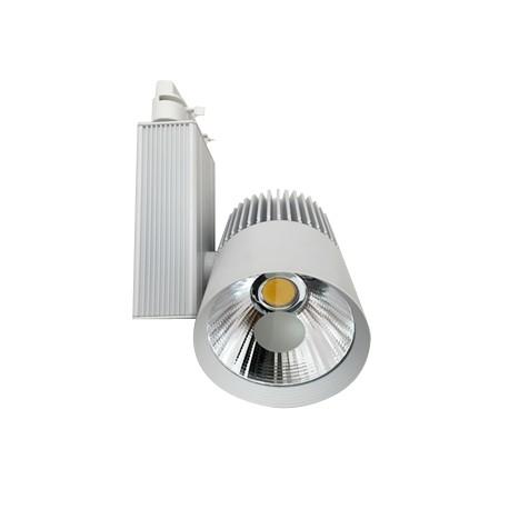 Foco de Carril LED 30W Monofásico G8002 6000K,4000K,3000K Luz Fría Neutra Cálida