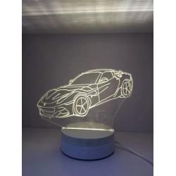 LAMPARA NOCTURNA FORMA COCHE 3D 5W
