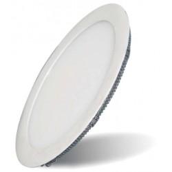 Placa LED Circular SuperSlim 24W 6000K  4000K  Luz Fría y  Neutra