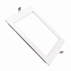 Placa LED Cuadrada SuperSlim 24W 6000K 4000K  Blanca Luz Fría Neutra