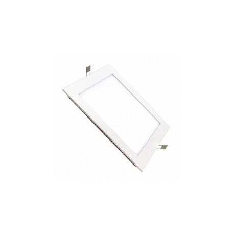 Placa LED Cuadrada SuperSlim 20W 6000K 4000K Luz Fría y Neutra