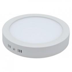 Plafón LED Redondo 12W Superficie Luz Fría y Neutra