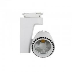 Foco de Carril LED 30W Monofásico G8003 Blanco 6000K,4000K,3000K Luz Fría,Neutra y Cálida