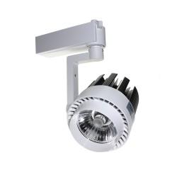 Foco de Carril LED 20W G8004 Monofásico Luz Fría, Neutra y Cálida