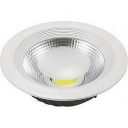 Foco Downlight LED CobSmile 20W Circular Blanco Frio 6000K