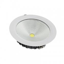 Foco Downlight LED CobSmile 30W Circular Blanca Fría Neutra y Cálida 6000k 4000k 3000k