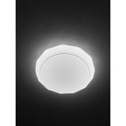 Plafón LED 54W con regulabre y Cambiar la Temperatura de Color 8904 con Control Remoto Lámpara de Techo