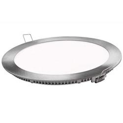 Placa LED Panel Super Slim 20W Redondo Downlight LED Φ220mm Marco Plata Luz Fría,Calida,Neura,6000k,3000k,4000k